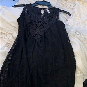 Cute black lacy dress